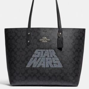 New with tag coach star wars tote handbag canvas
